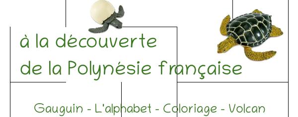 activités sur la polynésie pour maternelle