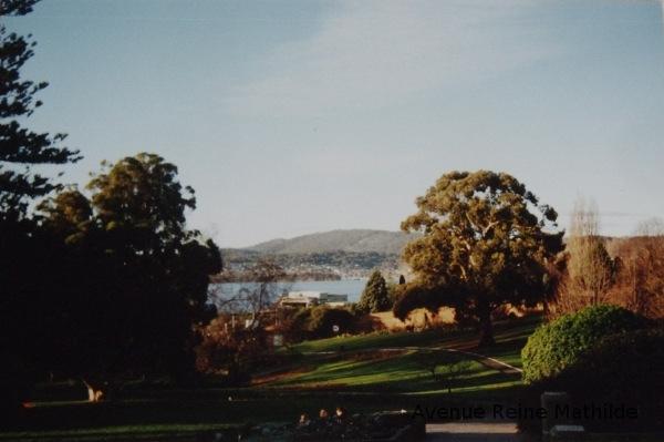 Balade au jardin botanique d'Hobart