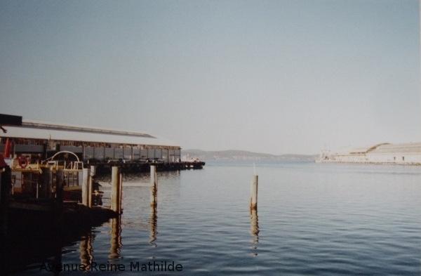 La baie d'Hobart