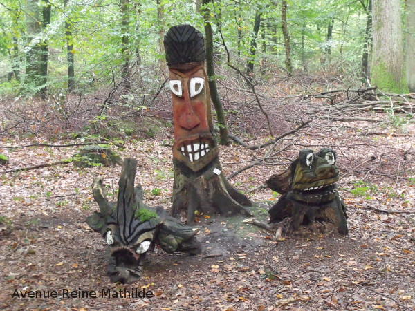 forêt de Haguenau,  gardiens de la forêt