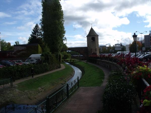 La tour des pêcheurs de Haguenau