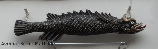 Gros poisson dans les rues de Saverne