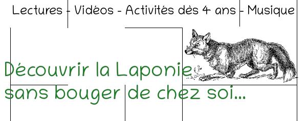 Activités Laponie Maternelle