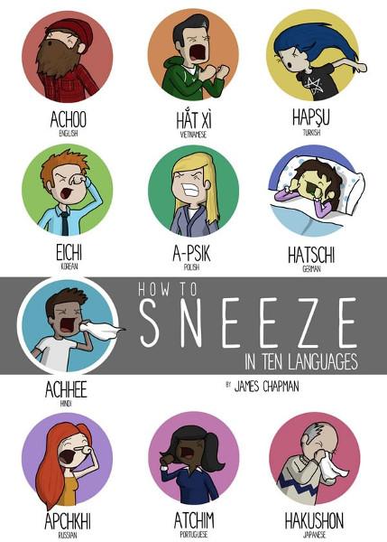 how to sneeze