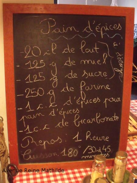 recette pain d'épice alsacien