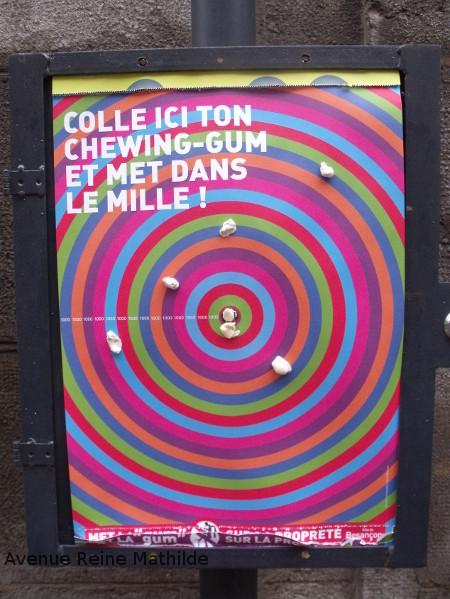 Besançon chewing gum