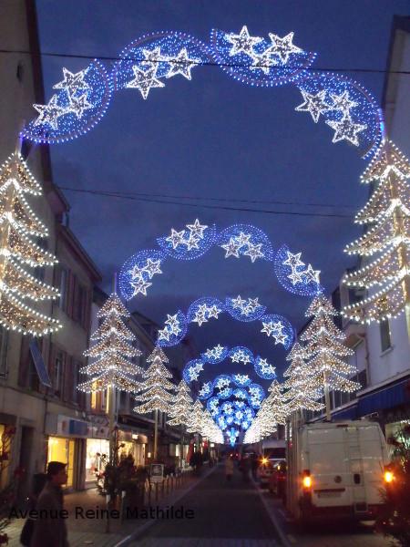 Lumières de Noël à Montbéliard