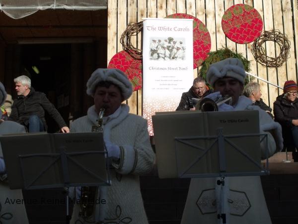 Chansons de Noël au marché de Mulhouse