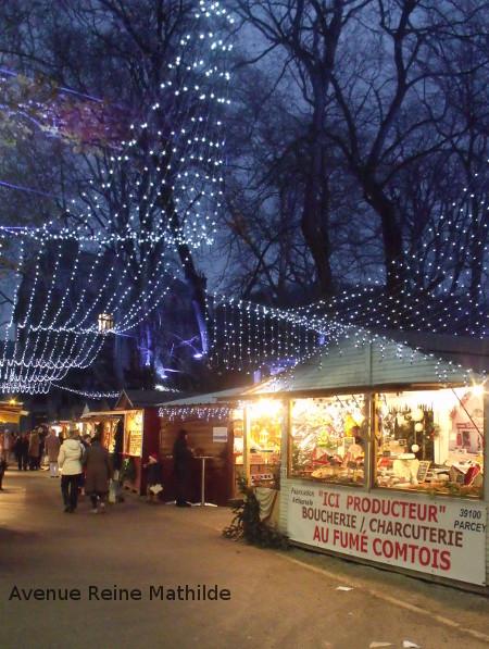 Besançon et son marché de Noël