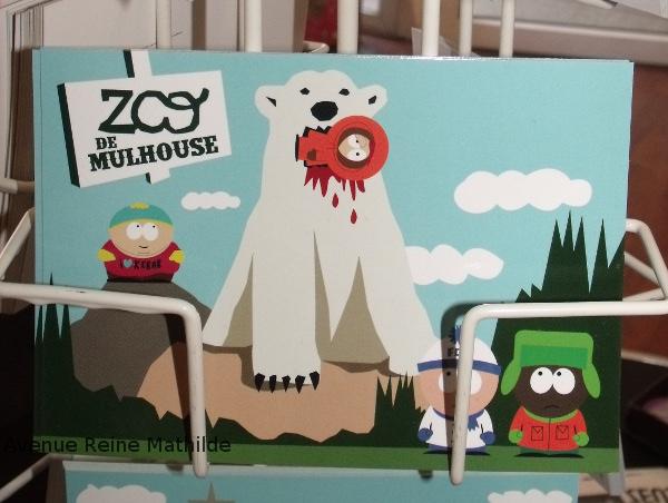 la vitrine carte zoo