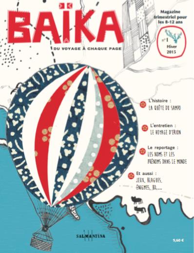magazine voyage pour enfant Baïka