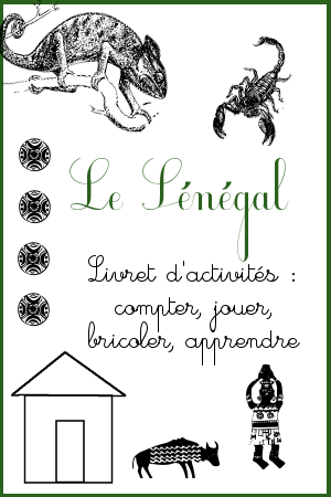 activités Sénégal 3-6 ans
