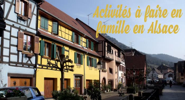 activités avec des enfants en Alsace