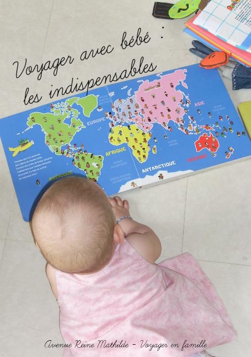 voyager léger avec bébé les indispensables