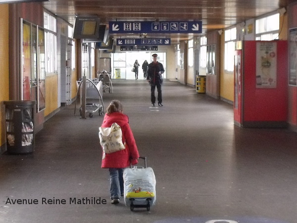 Nine à la gare de Mulhouse