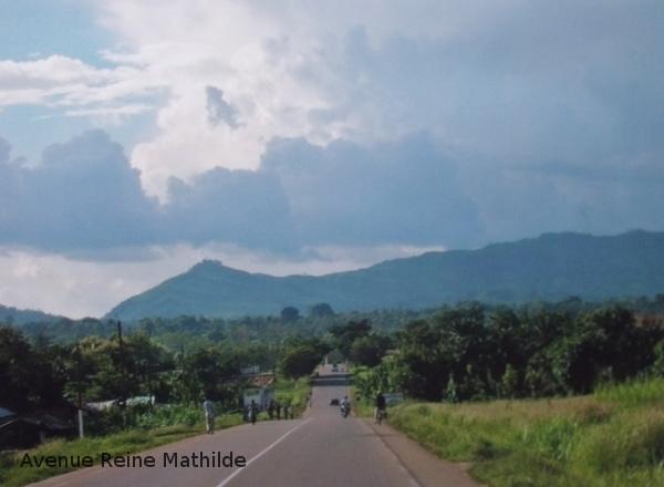 En direction des montagnes