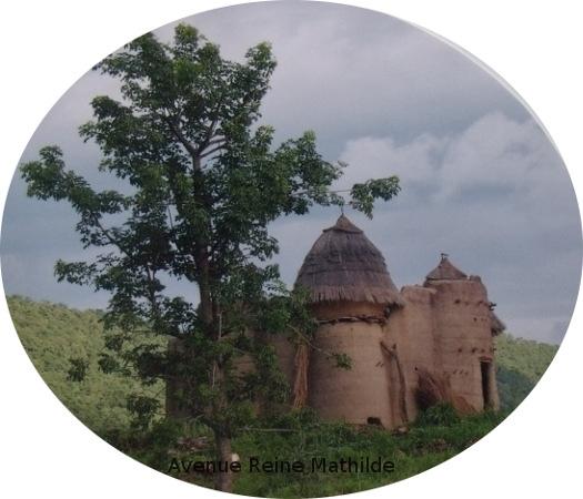 L'un des châteaux Tata du nord du Togo