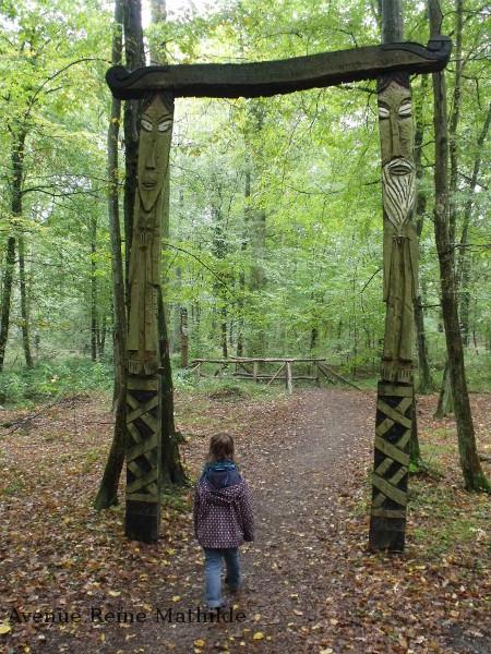 L'entrée du territoire des Gardiens de la Forêt