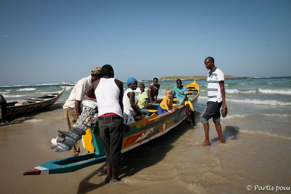 Sacha au Sénégal