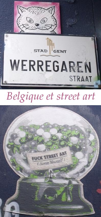 Belgique et street art