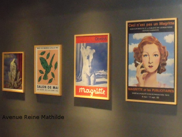 Au musée Magritte à Bruxelles