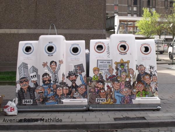 Bruxelles poubelles
