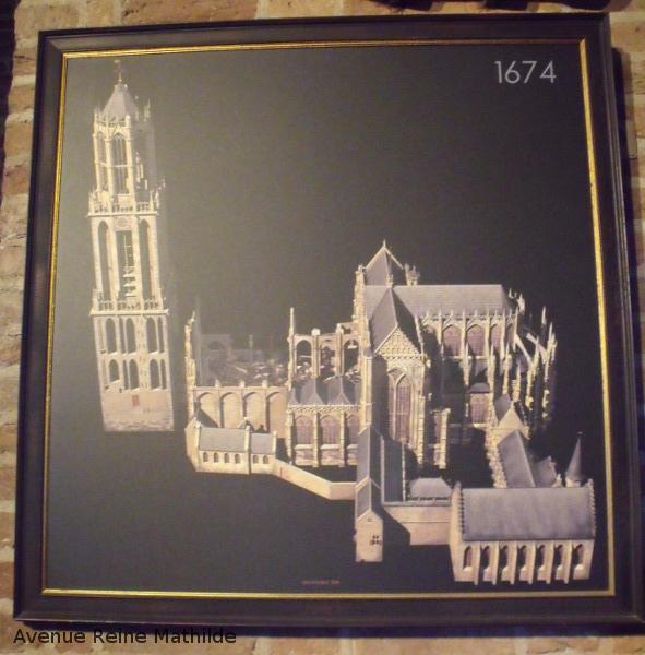 Utrecht tableau cathédrale
