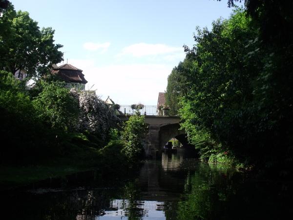 Balade en barque dans la petite Venise de Colmar