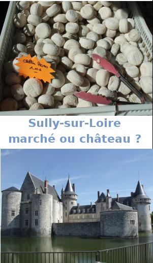 sully sur loire marché ou chateau