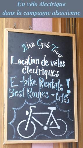 vélo électrique alsace