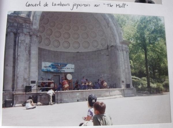Concert dans Central Park