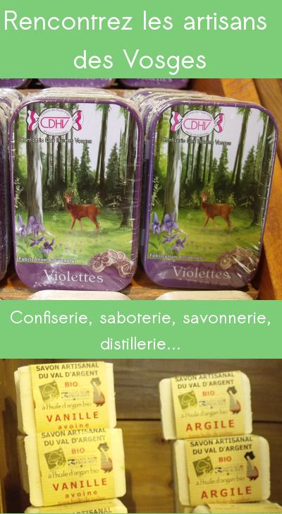 Visiter les ateliers des artisans des Vosges