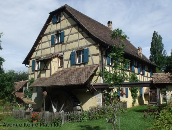 Le vieux moulin de Hundsbach
