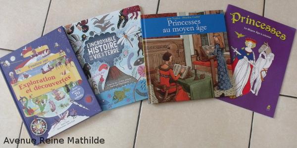 Quelques livres que l'on vient de se procurer :