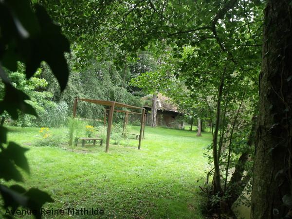 Dans le parc Reinach à Hirtzbach