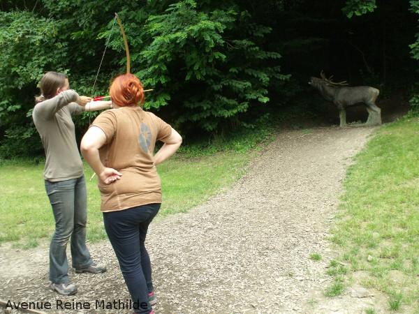Mon essai au tir à l'arc
