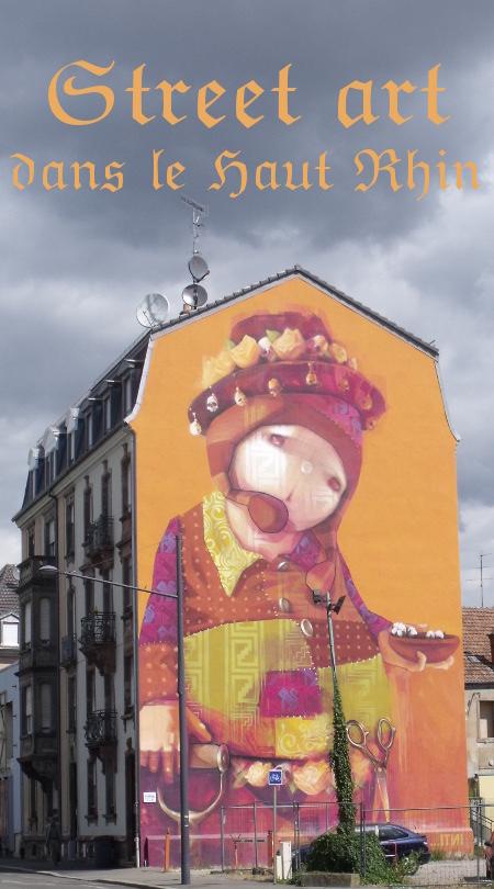 street art dans le Haut Rhin