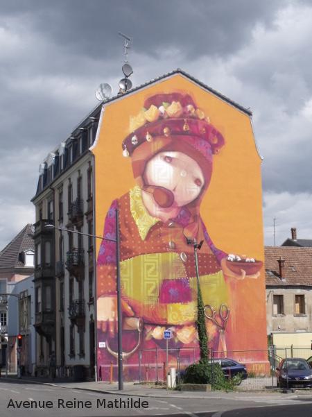 Street Art en Alsace
