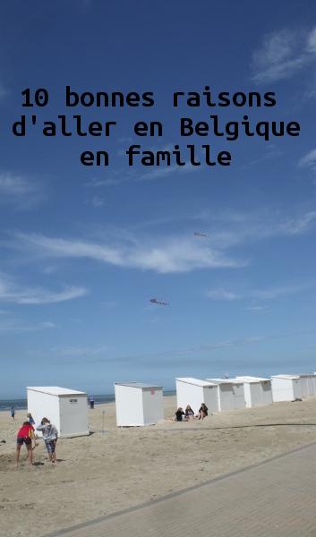 Vacances en Belgique en famille