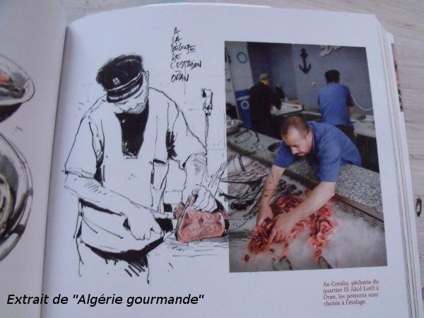 """livre cuisine du monde """"algérie gourmande"""""""