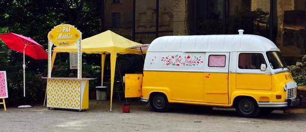 poussette café mobile à Angers