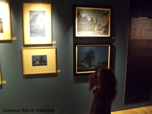 Visite n famille à Colmar - musée Hansi