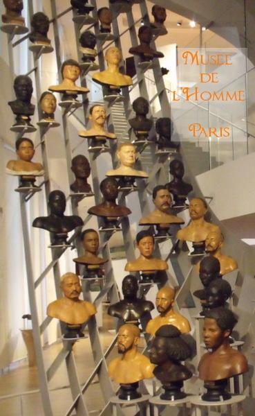 Musée de l'homme Paris avec enfant