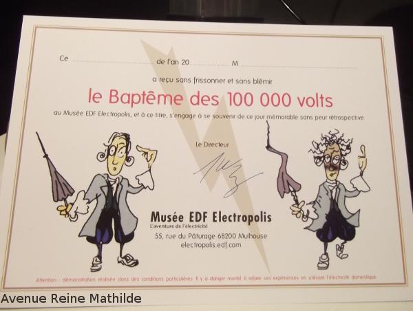 Musée électricité mulhouse