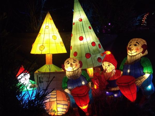 Metz sentier lanternes