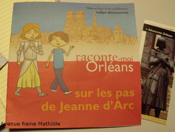 circuit jeanne d'arc Orléans