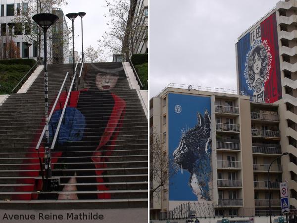 street art dans Paris 13e