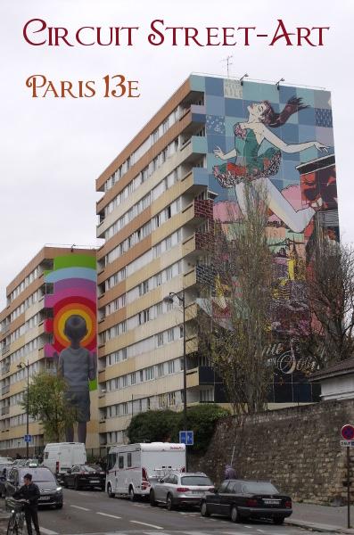 Balade street art paris 13e arrondissement - Galerie street art paris ...