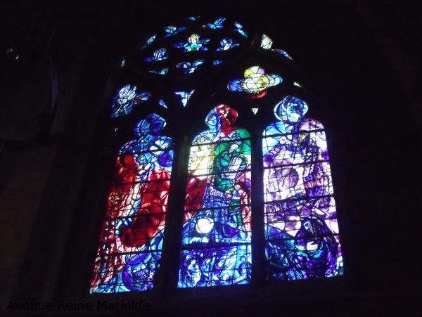 metz vitraux chagall
