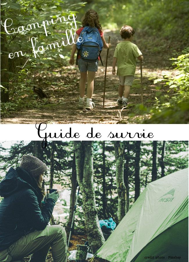 Camping en famille, 5 règles pour en profiter